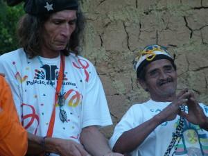 K-030-Indios de Araponga, cachimbo y pipa