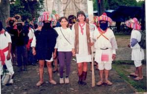 Visita del EZLN a Tepoztlán, Lourdes zapatista
