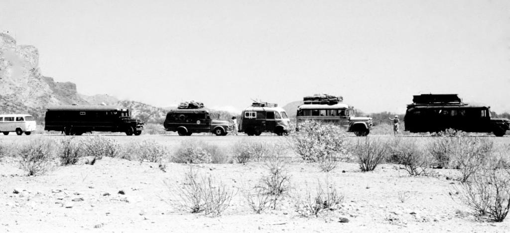 01.Buses en Sonora, Sitio de la pelicula Catch 22, 1980