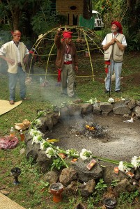 Ceremonia Maya, fuego (1)