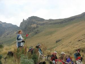 Danish Journey in the High Mountain Iztacihuatl