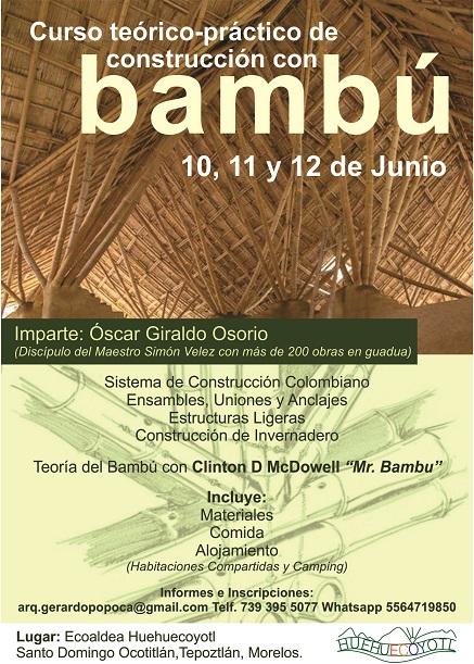 Flyer Curso bambu Redes