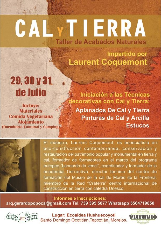 Taller de Acabados Naturales de Cal y Tierra, con Laurent Coquemont ...